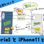 Xperia5とiPhone11ならどっちがいい?