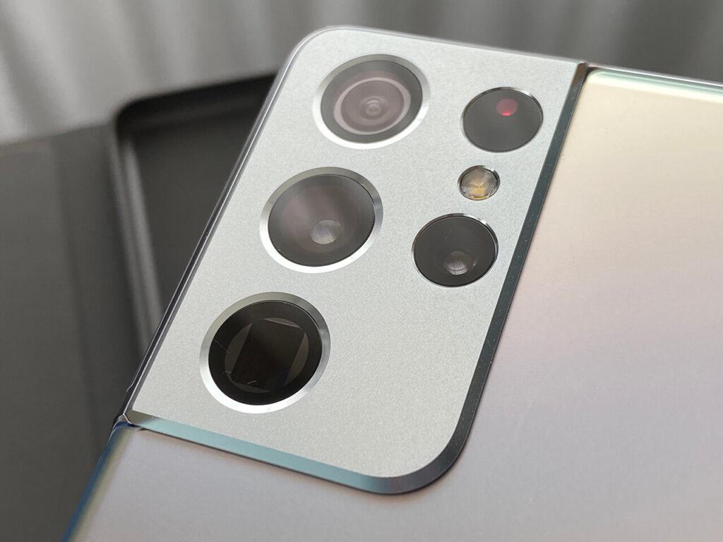 Galaxy S21 Ultra カメラ